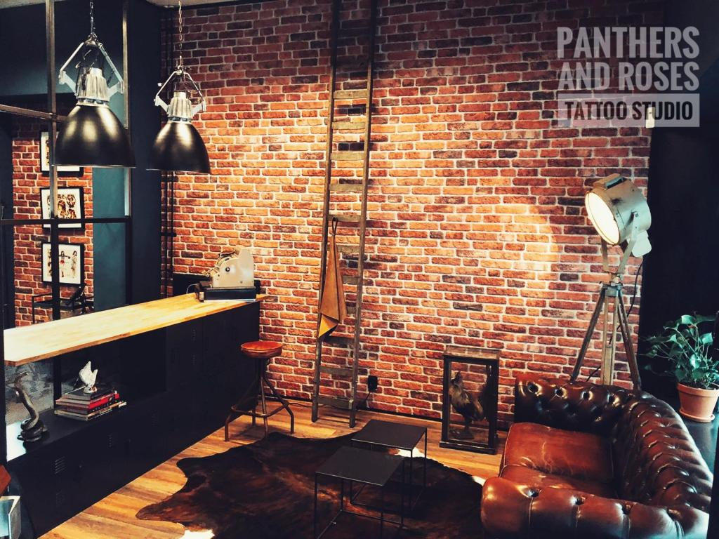 Interieur Panthers and Roses Amsterdam voormalig Tattoo Nick